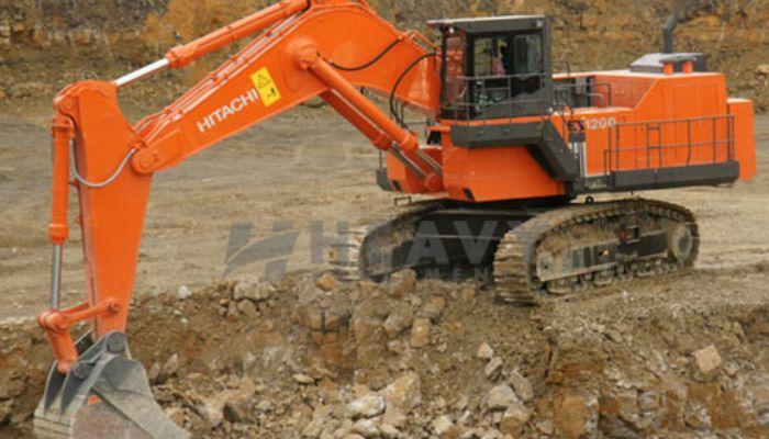 TATA HITACHI EX-1200 Excavators Rent Price