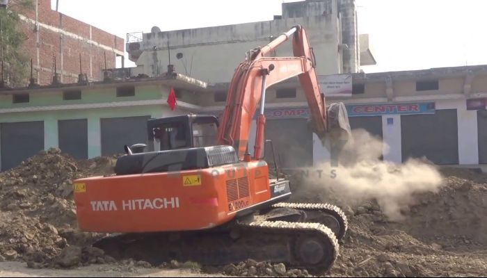 Rent TATA Hitachi EX 200 LC