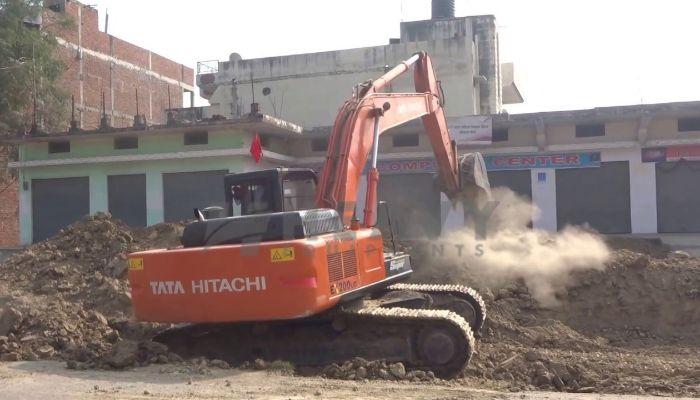 Hire TATA Hitachi EX 200 Excavator