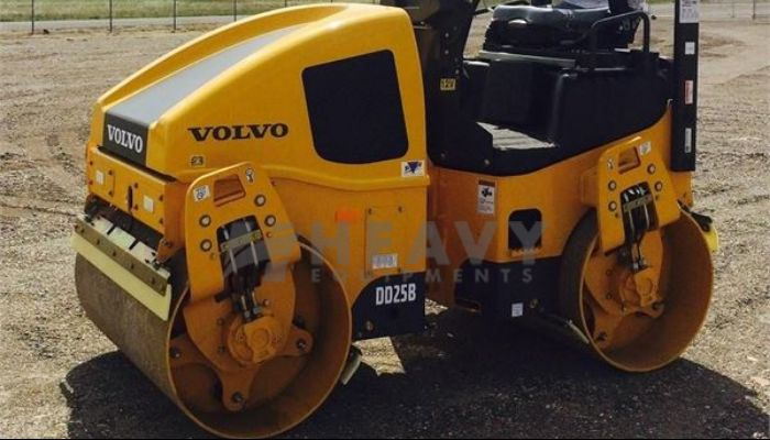 Hire Volvo Soil Compactor In India