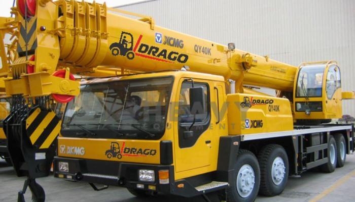 XCMG QY40K Mobile Crane In Gujarat