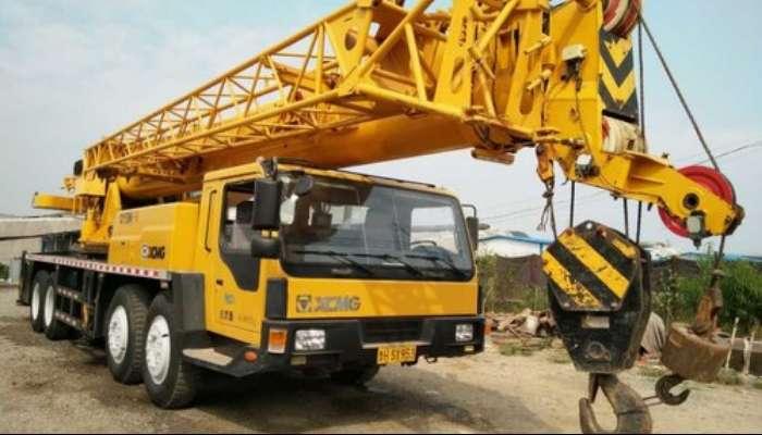 XCMG QY50K 50 Ton crane on rental