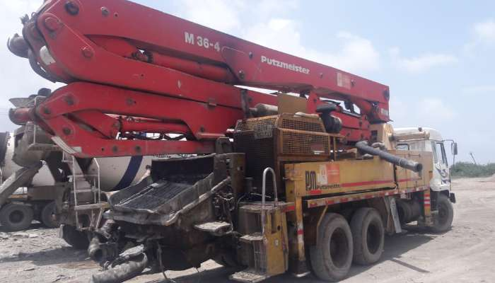 used putzmeister boom placer in surat gujarat boom placer price he 1644 1561706369.webp