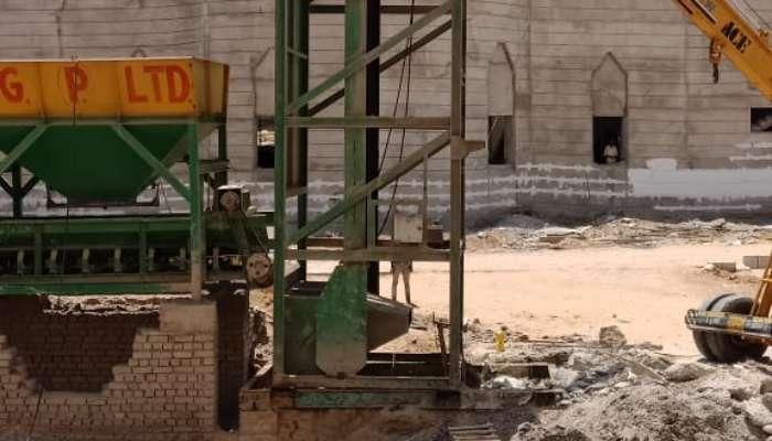 Cement Concrete Batch mix plant