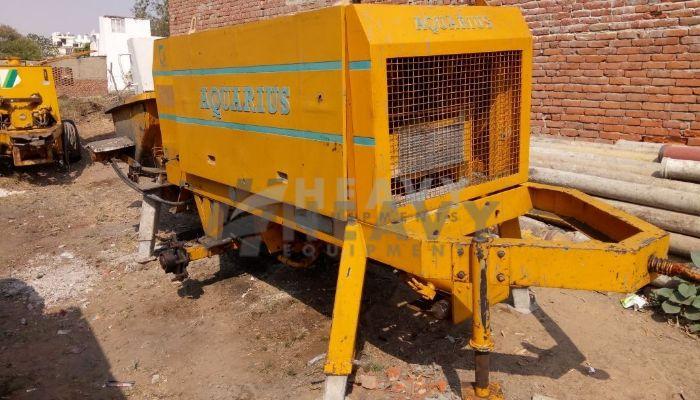 Aquarius 2010 Model Concrete Pump