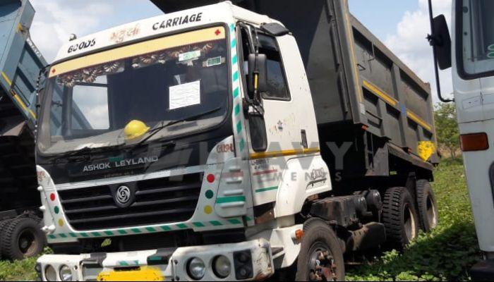 used ashok leyland dumper tipper in ankleshwar gujarat ashok layland 10 tyres tipper he 2014 1122 heavyequipments_1538039432.png