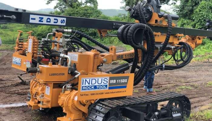 Crawler Drill Machine Model IRB115