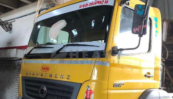used 2523C Price used bharatbenz dumper tipper in panoli gujarat bharatbenz dumper 2523c he 2015 1231 heavyequipments_1543042870.png