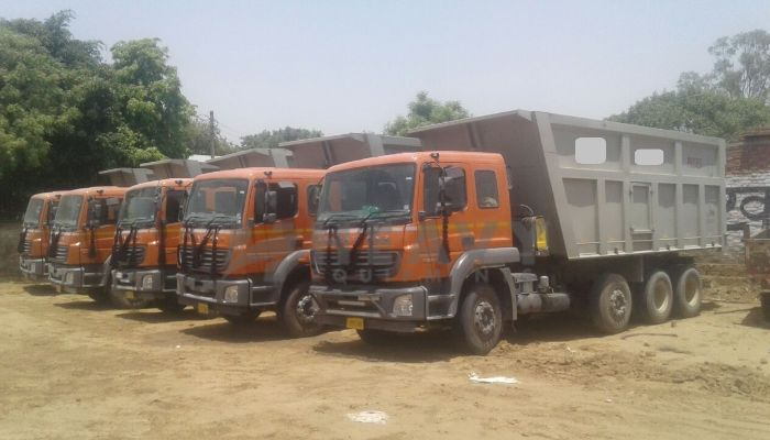 Used Bharatbnez 3123 Tipper