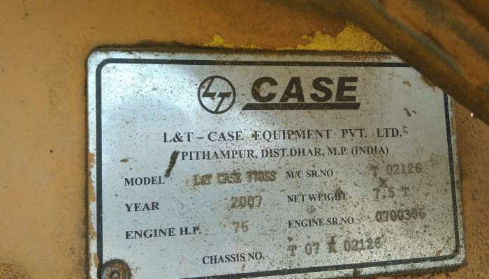 Used CASE 770 Backhoe for Sale