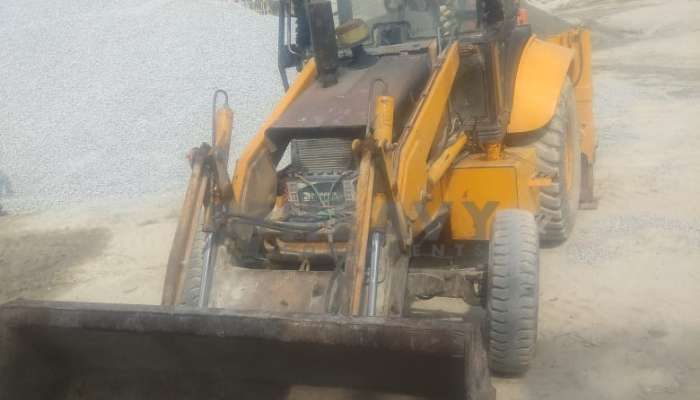 Used L&T Case Backhoe