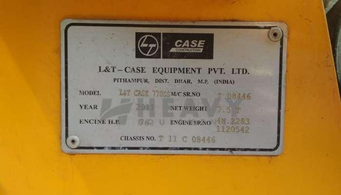 Case 770 SS Backhoe Loader