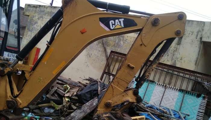 CAT 424B Backhoe Loader