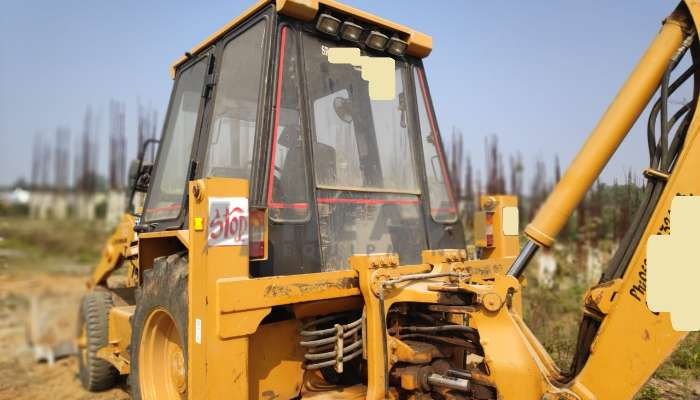 Used Cat 424B Backhoe loader