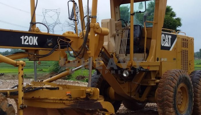 Used CAT 120K Motor Grader