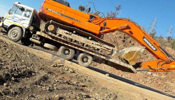 Doosan Excavator DX340 LCA