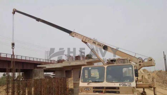 Used TIL 25 Ton Truck Crane for Sale