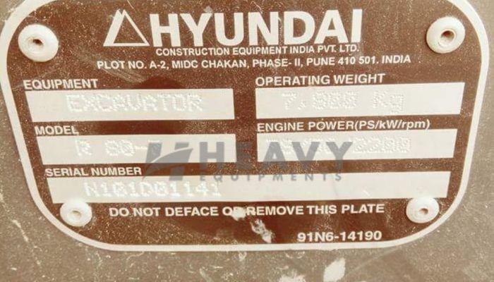 Used Hyundai R-80