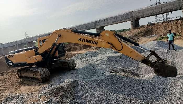 Hyundai Smart R210 Hydraulic Excavator