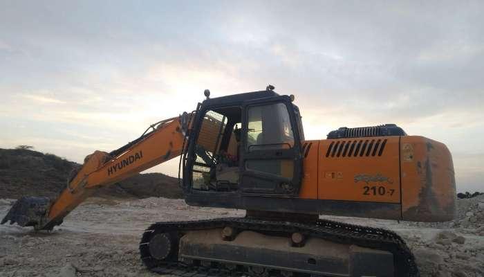 Hyundai 210 LC Excavator