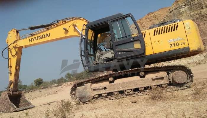 Hyundai 210 Excavator