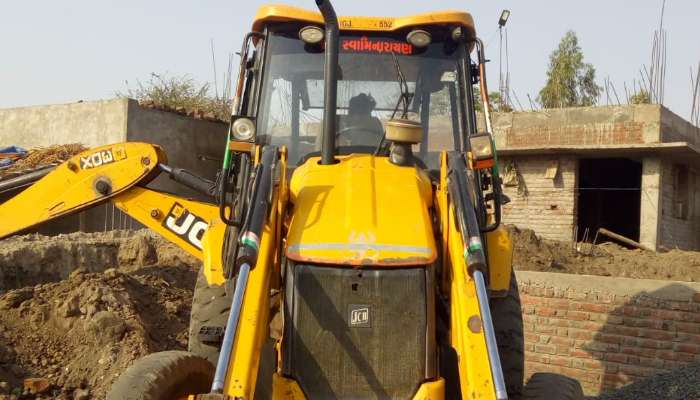 Used JCB with bucket for sale