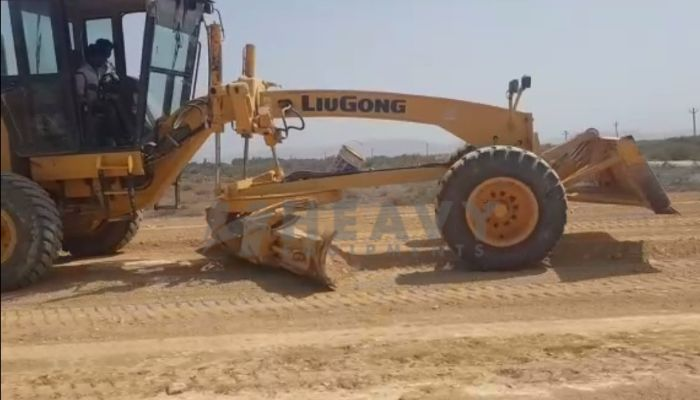 Used Liugong CLG 418 Motor grader