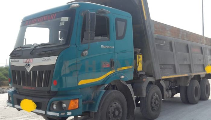 used mahindra dumper tipper in chikhli gujarat mahindra dump truck for sale he 2018 1213 heavyequipments_1542257807.png