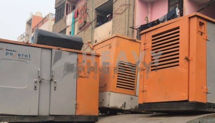 Used 15 KVA Non Silent Mahindra Generator For Sale