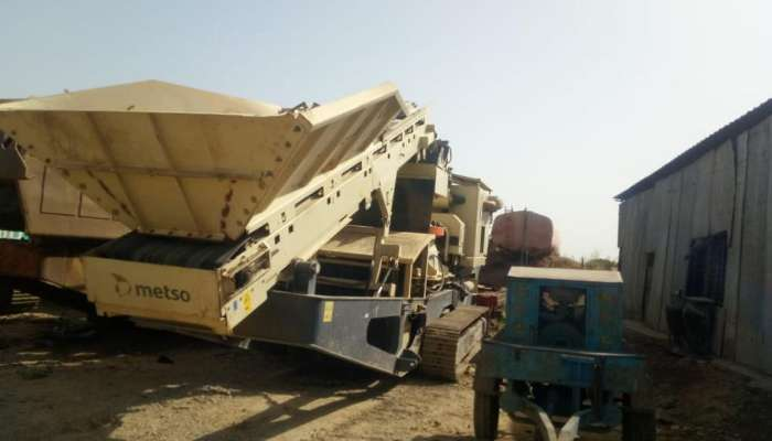 Used Metso Crusher Plant