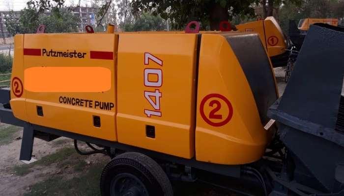 Putzmeister concrete pump for sale
