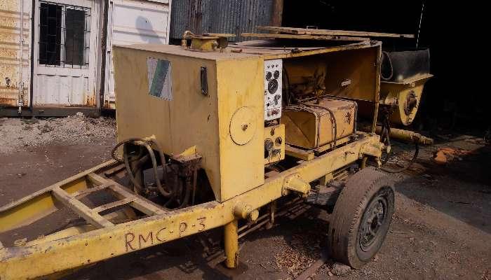 CONCRETE PUMP 350 D PUMP AT CHENNAI