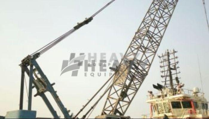 Used 80Ton Hitachi Sumitomo Crawler Crane For Sale
