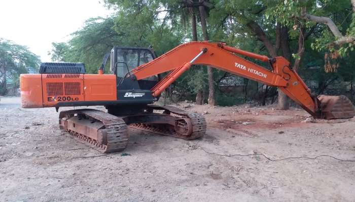 Used TATA Hitachi Excavator EX 200 for Sale