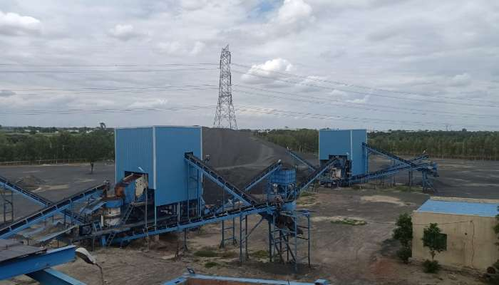 PUZZOLANA 200TPH  3 STAGE CRUSHER PLANT FOR SALE