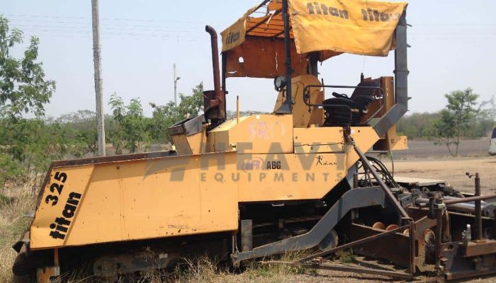 Titan Sensor Paver Finisher For Sale