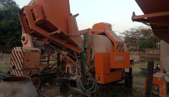 used concrete reversible mixer