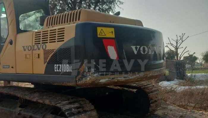 Used EC 210B LC Volvo Excavator